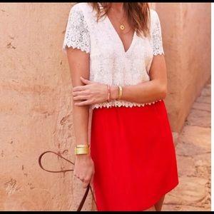 sezane lace dress